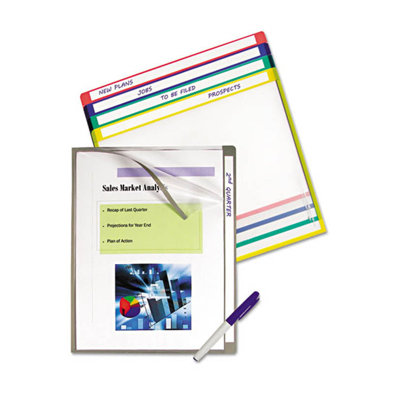 Write-On Project Folders, Assorted