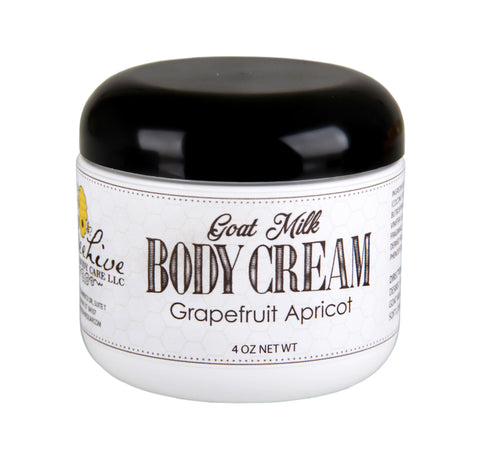 Goat Milk Cream - Beehive Soap and Body Care