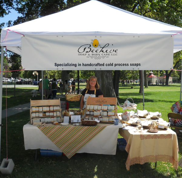 Beehive Soap Salt Lake Farmers Market