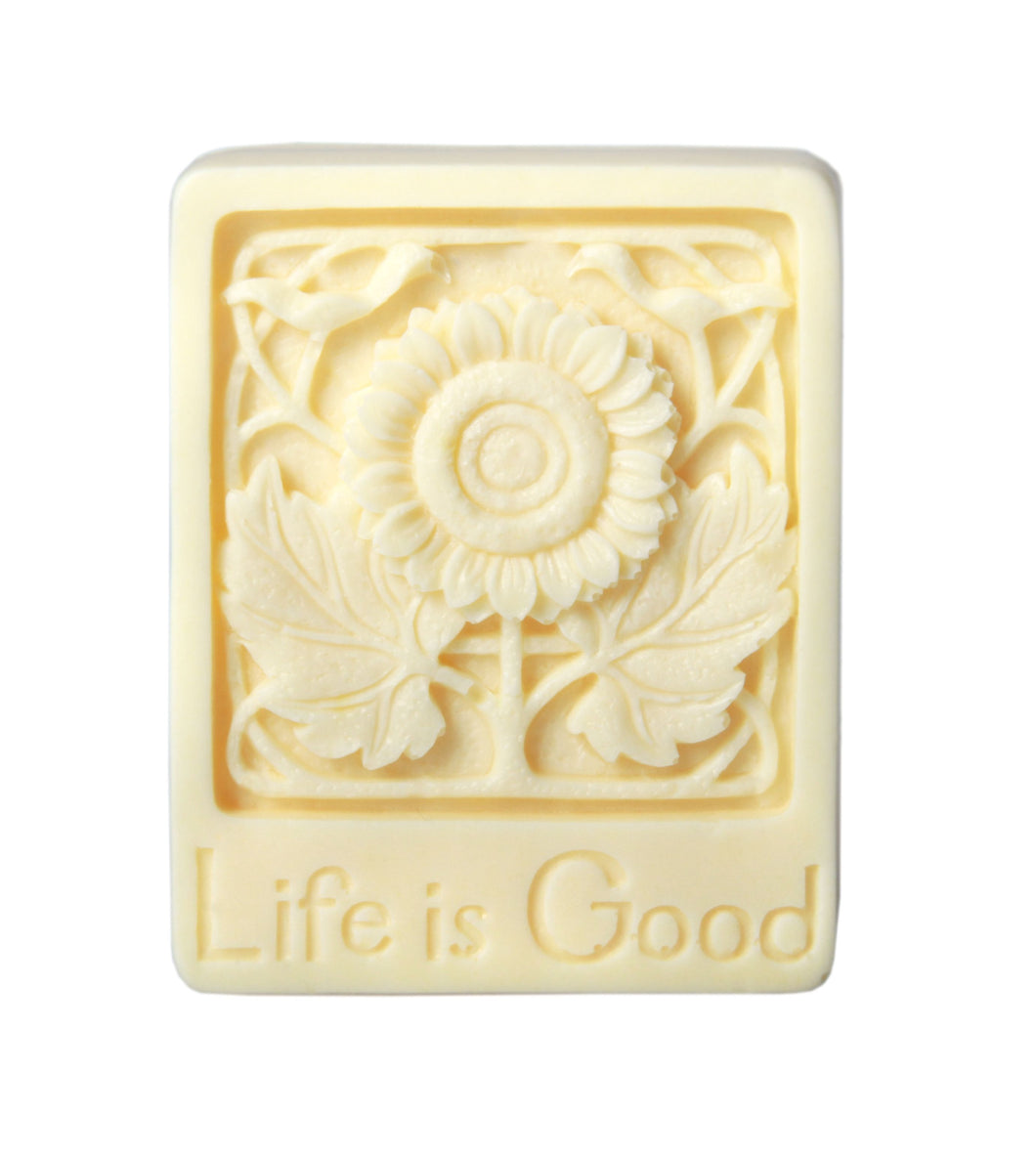 Life is Good Glycerin Soap