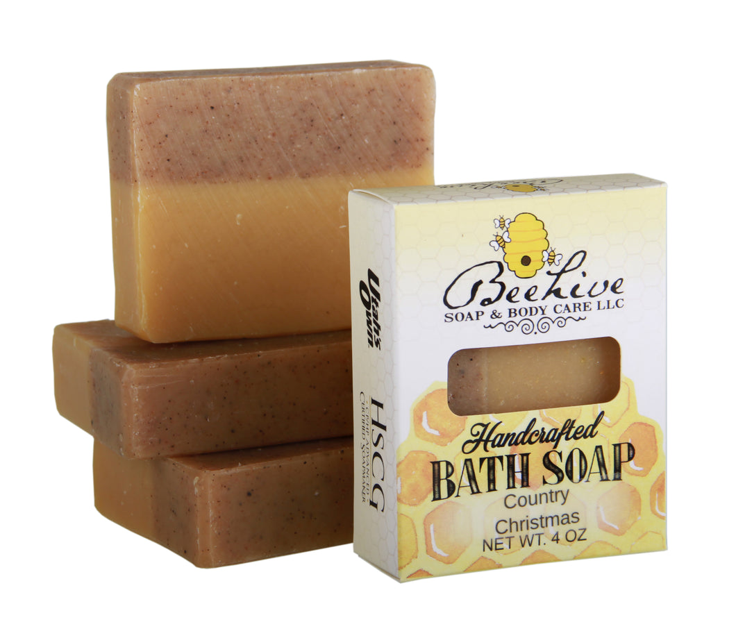 Country Christmas Soap