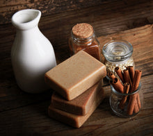 Oatmeal Milk & Honey Cinnamon Soap