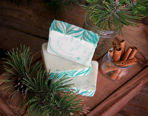 Christmas Forest Soap