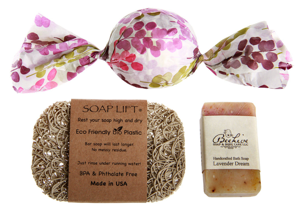 Gift Set - Small Soap, Bath Fizzie, Soap Lift