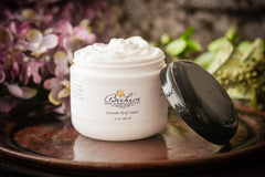 Lavender body cream lotion