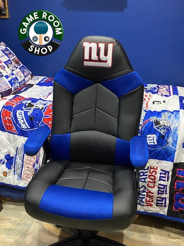 NFL Oversized Gaming Chair - New York Giants
