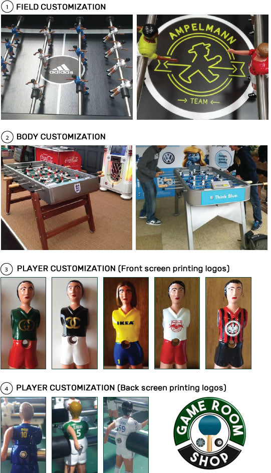 RS Barcelona Foosball Customization