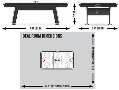 What-Are-Air-Hockey-Table-Dimensions-Size