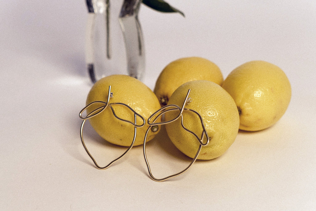 Art Inspired: The Lemon Earrings