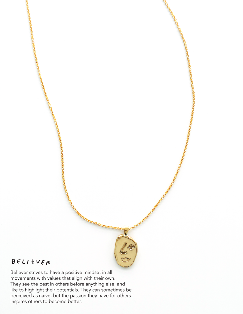 Cadette x Melody Hansen – 'Believer' Necklace
