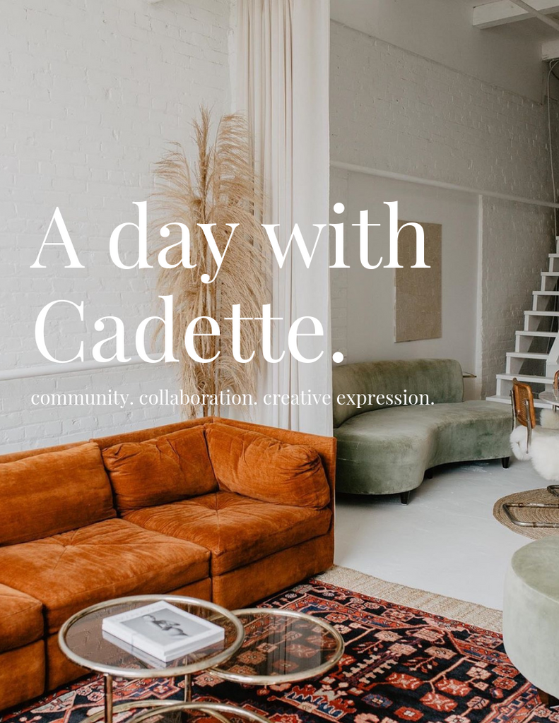 EVENT REGISTRATION: A day with Cadette