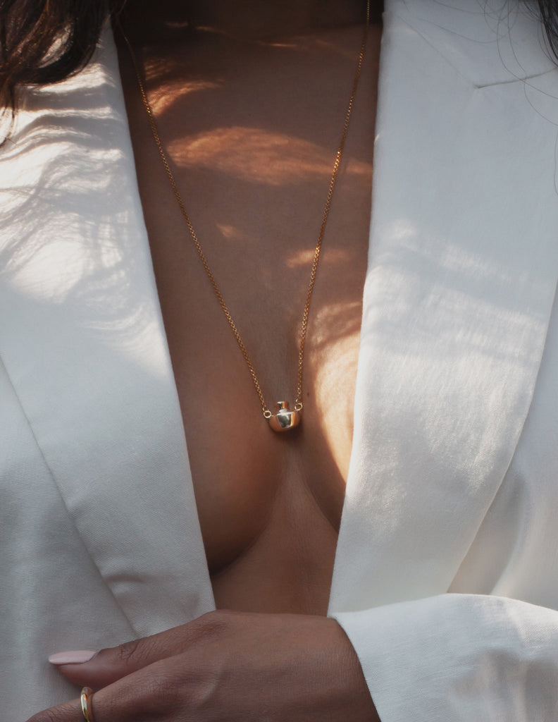 Telline necklace in Gold