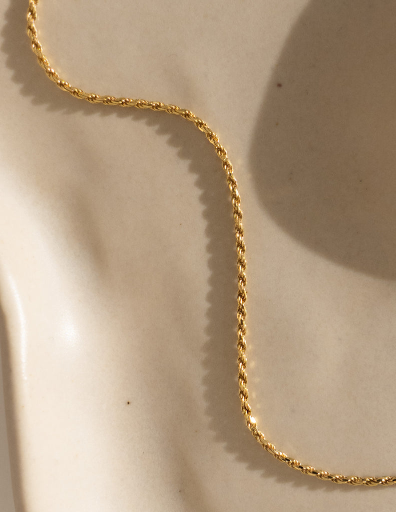 Joi Rope Chain in Gold