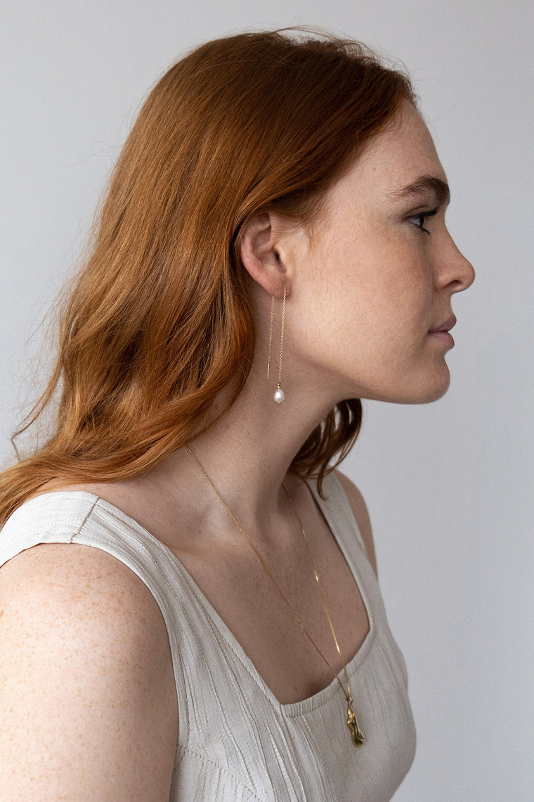 Luce Threader Earrings