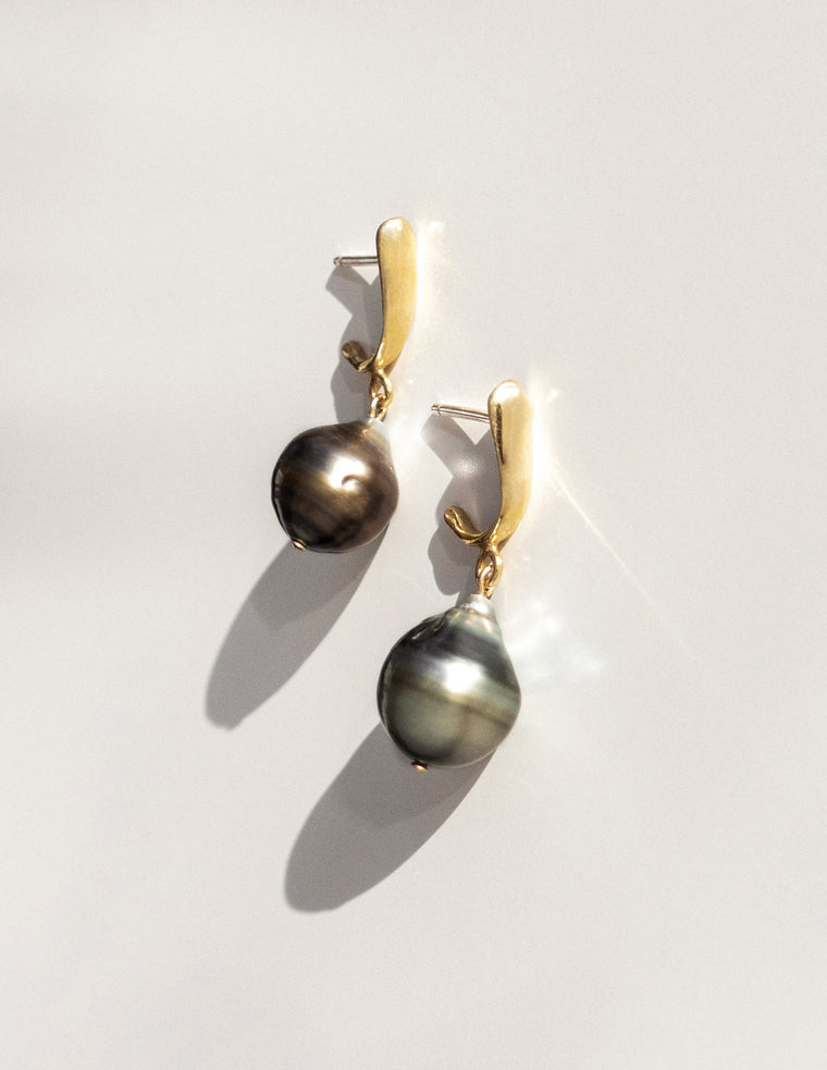 Tahitian Pearl Noemi Earrings
