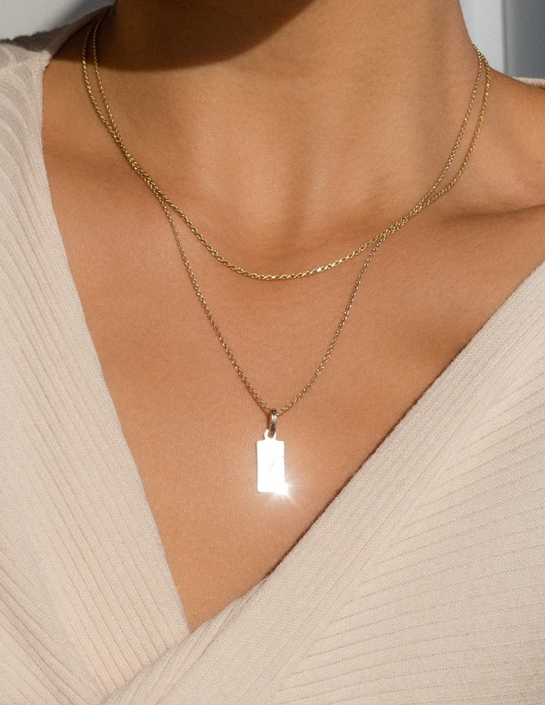 Petite Tag Necklace