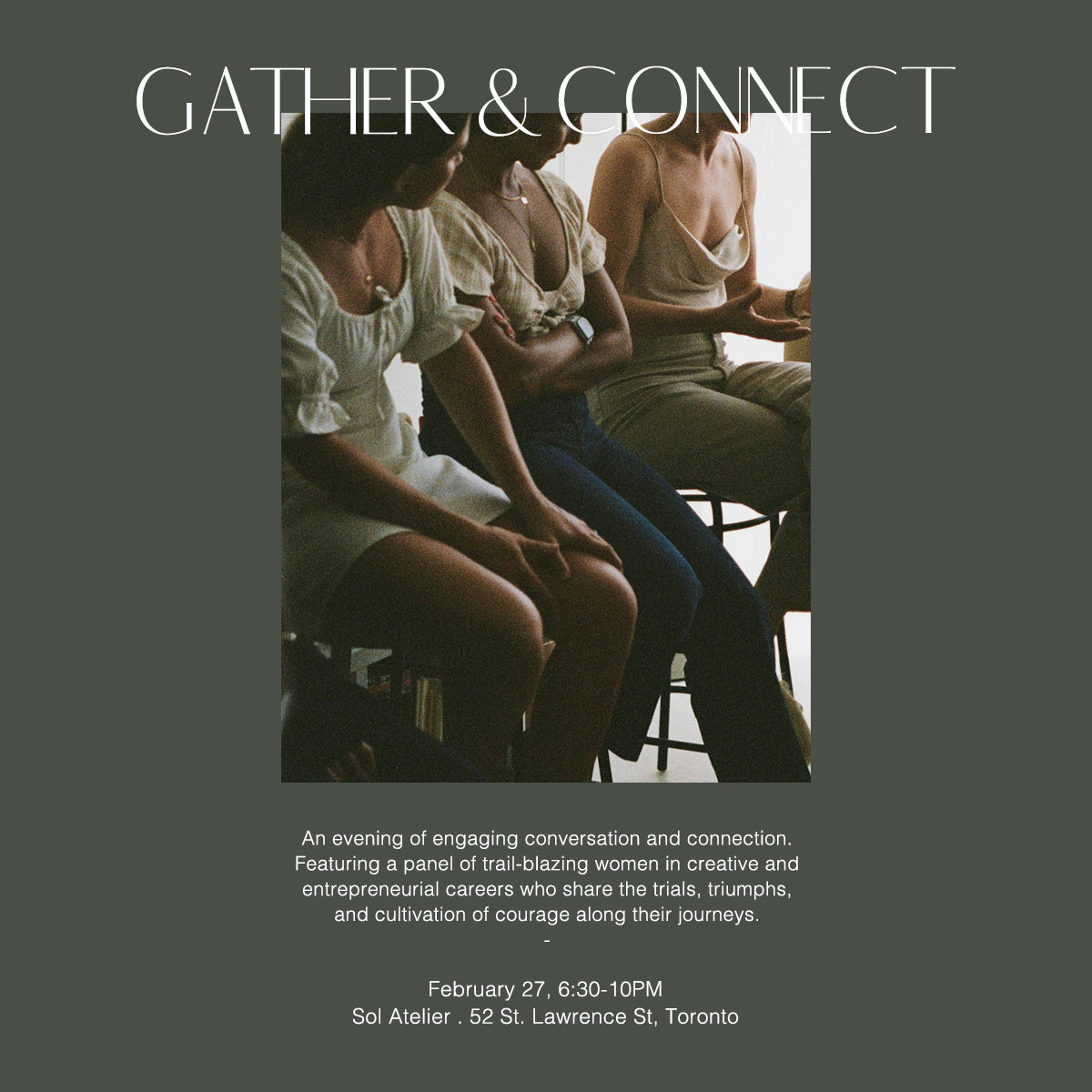 EVENT REGISTRATION: Gather & Connect