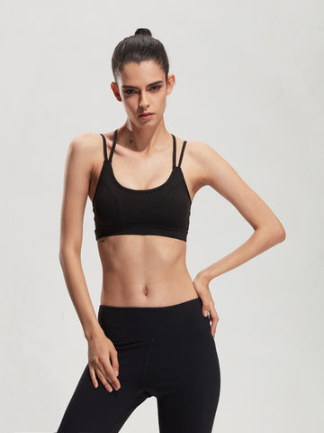 Strappy Running and Yoga Bra