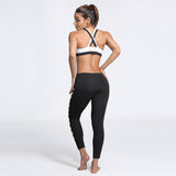 Ladies Infinity Peekaboo Legging (available in sizes up to XXXL)