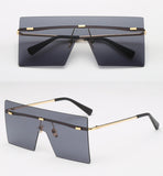 Unisex Shield Sunglasses-Luxe Collection