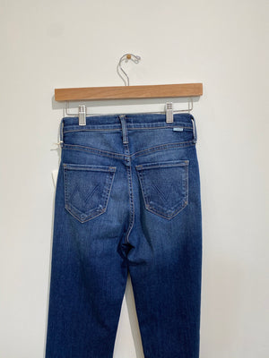 MOTHER Tomcat Ankle Denim