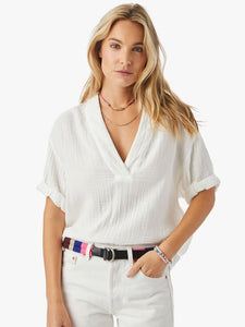 Xirena Avery Top White - Clambake