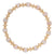 Loyalty Gold 6mm Bead Bracelet- Gemstones