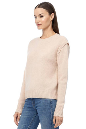 360 Cashmere Light Peach Sweater