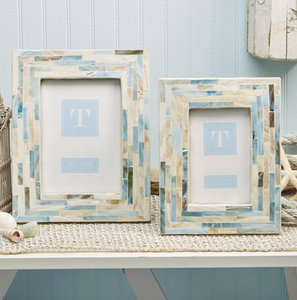 Beachy Tiled 5x7 & 4x6 Frame