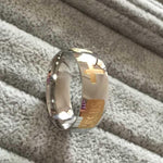 FREE Silver and Gold Jesus Ring