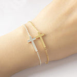 Gold Cross Bracelets