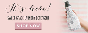 NEW - Sweet Grace Laundry Detergent