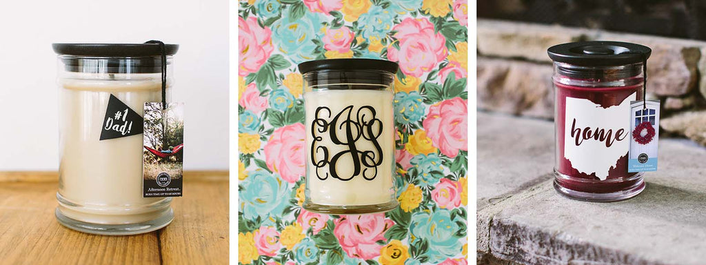 Personalized Bridgewater Jar Candles