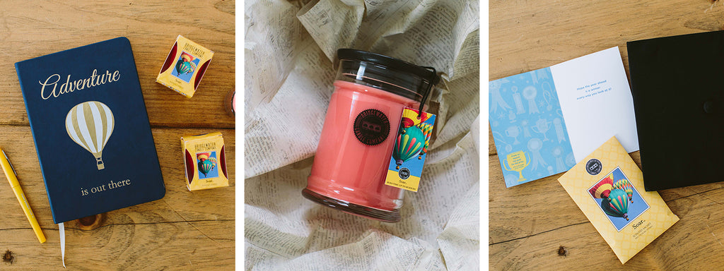 Soar Votive Candle, Large Jar Candle & Sachet