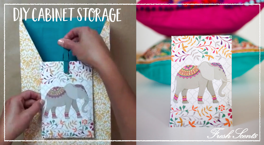 Elephant DIY How To Make A Letter Organizer