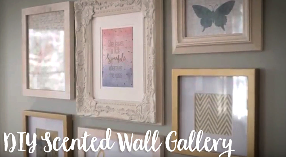 DIY Scented Wall Gallery