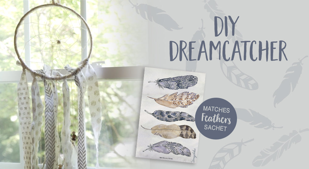 Feather DIY How To Make A Dreamcatcher