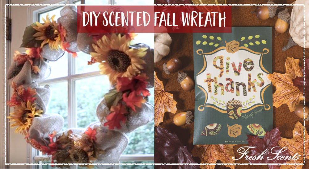 DIY Scented Fall Wreath