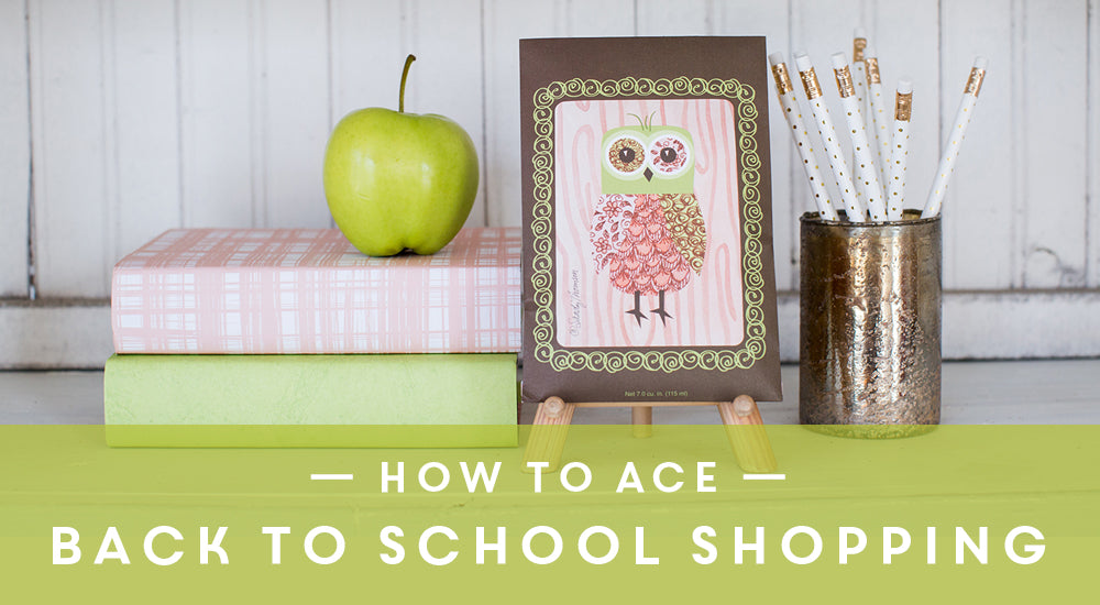 How to Ace Back to School Shopping