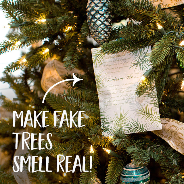 Use Sachets to Make Fake Trees Smell Real