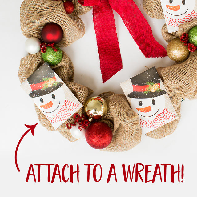 Attach Sachets to a Wreath for Decoration