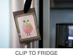 Clip To Fridge