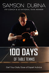 100 Days of Table Tennis book
