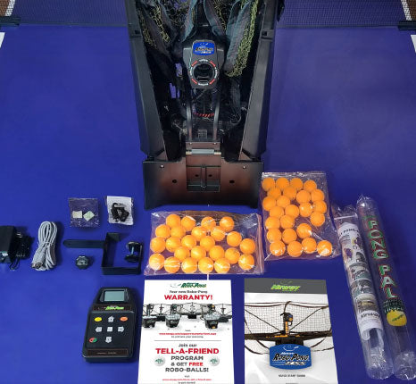 Robo-Pong 2055 Table Tennis Robot