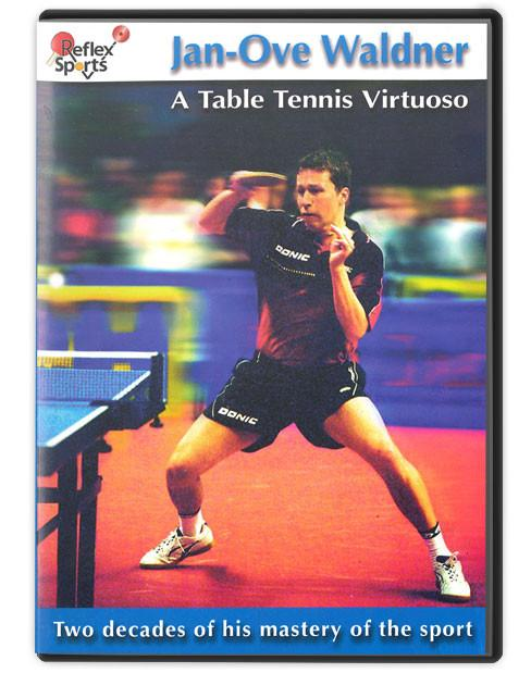 Jan-Ove Waldner A Table Tennis Virtuoso 2 DVD Set
