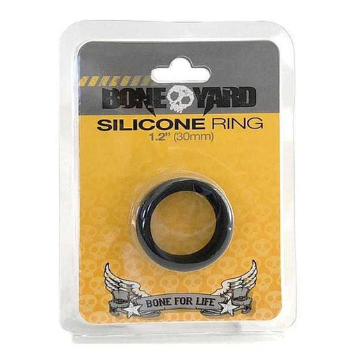 Boneyard Silicone Ring 30mm Black