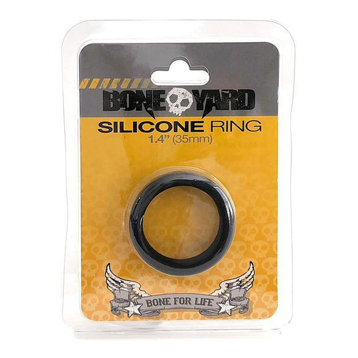 Boneyard Silicone Ring 35mm Black - C1RB2B