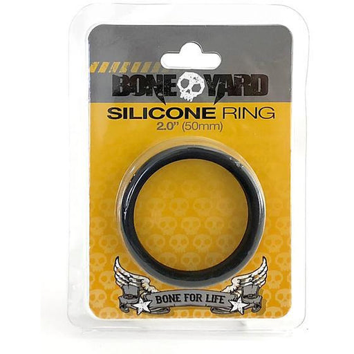 Boneyard Silicone Ring 50mm Black