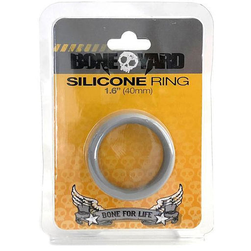 Boneyard Silicone Ring 40mm Gray