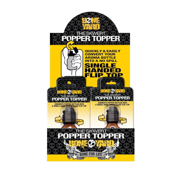Skwert Popper Topper POS Kit (6 large - 6 small) - C1RB2B